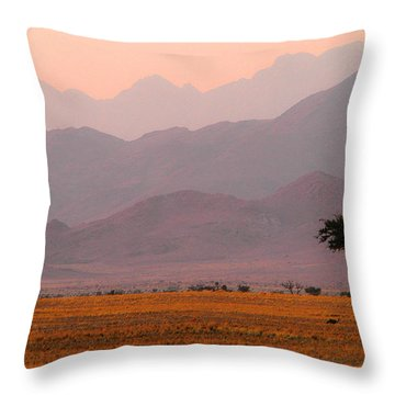 Plain Tree Throw Pillow