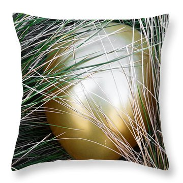 Throw Pillow featuring the photograph Playing Hide And Seek by Steve Taylor