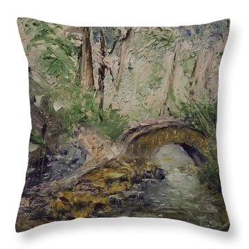 Pleasant Stroll Throw Pillow