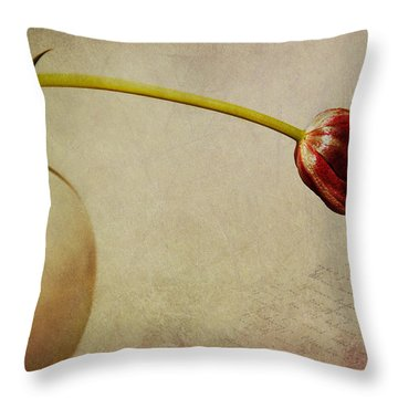 Poesia Throw Pillow by Claudia Moeckel