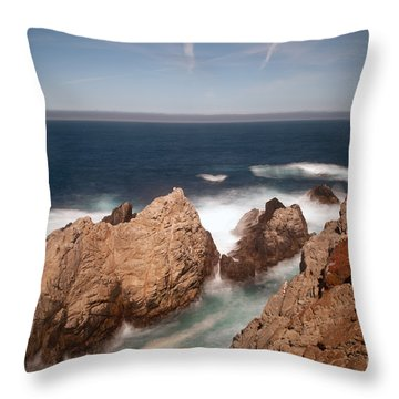 Point Lobos Number One Throw Pillow by Catherine Lau