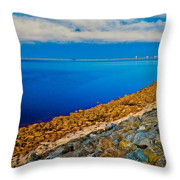 Point Of View Throw Pillow by Doug Long