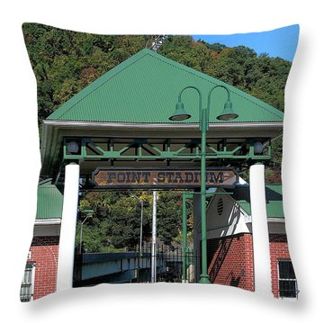 Point Stadium - Johnstown Pa Throw Pillow