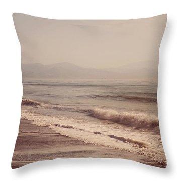 Pointless Nostalgia Throw Pillow by Jenny Rainbow