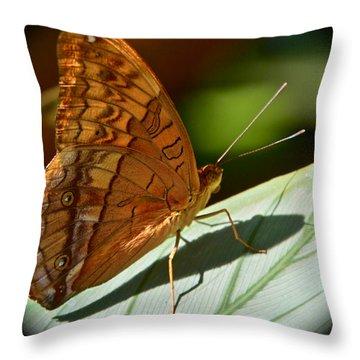 Poised Throw Pillow by Jocelyn Kahawai