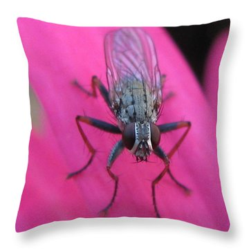Poised Throw Pillow by Tina Marie