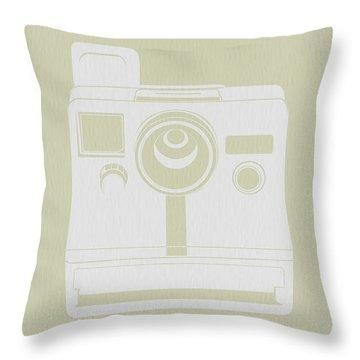 Polaroid Camera 2 Throw Pillow