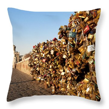 Ponte Milvio Throw Pillow by Fabrizio Troiani