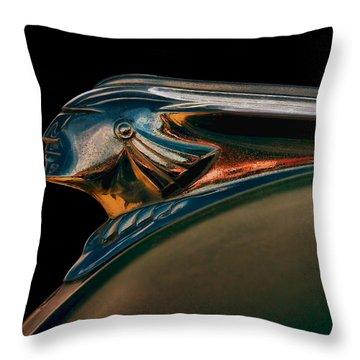 Pontiac Indian Chief Throw Pillow