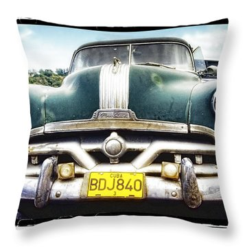 Pontiac  Throw Pillow by Mauro Celotti