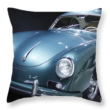 Porsche Museum 4 Throw Pillow