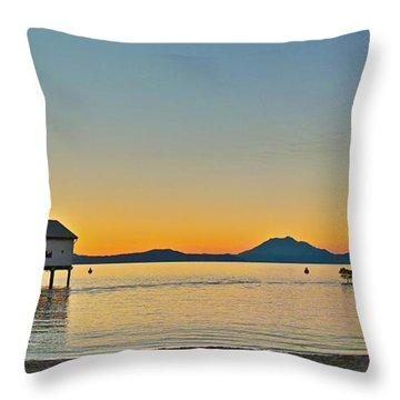 Port Douglas - Queensland - Australia Throw Pillow by Jocelyn Kahawai