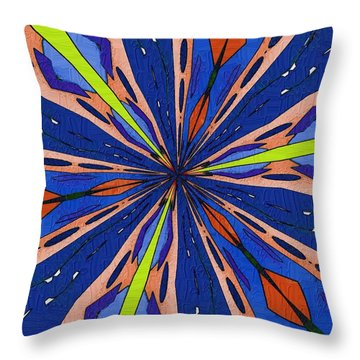 Throw Pillow featuring the digital art Portal To The Past by Alec Drake