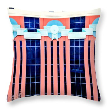 The Portland Building Throw Pillow