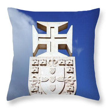 Portuguese Symbology Throw Pillow by Gaspar Avila