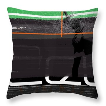 Pose Throw Pillow