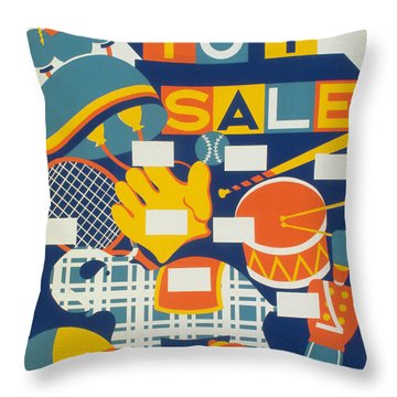 Poster: Toys, C1940 Throw Pillow by Granger