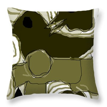 Poverty Point 1 Throw Pillow