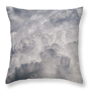 Powder Puff Throw Pillow