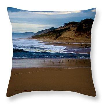 Powlet River Throw Pillow