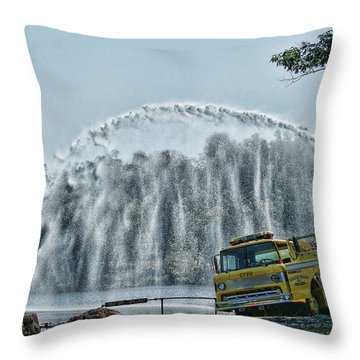 Throw Pillow featuring the photograph Practice And Airation by Rick Friedle