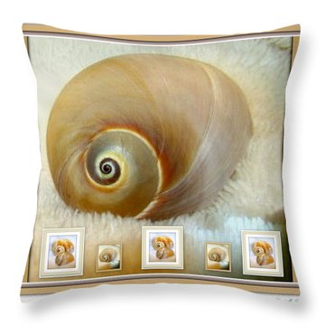 Throw Pillow featuring the photograph Praline And Cream by Danielle  Parent