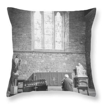 Throw Pillow featuring the photograph Prayer by Hugh Smith