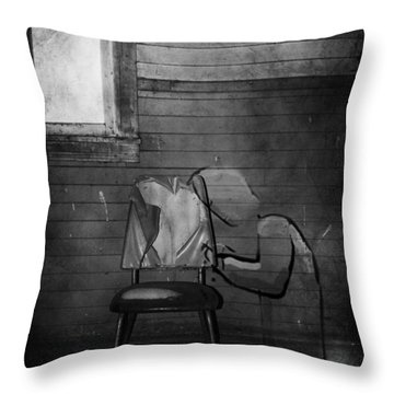 Prayers Of Love  Throw Pillow by Empty Wall
