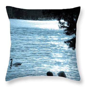 Precious Moments Throw Pillow by Syed Aqueel