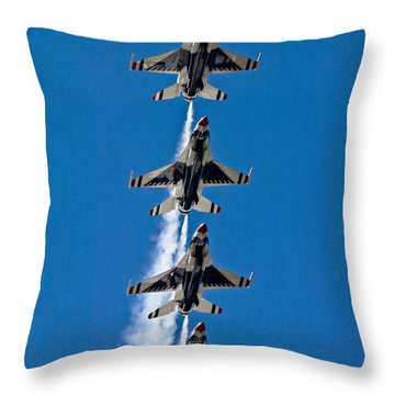 Throw Pillow featuring the photograph Precision by Dan Wells