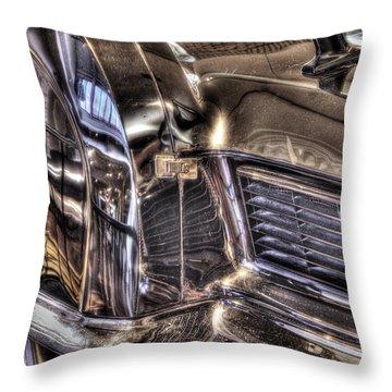 Presidential Lincoln Tail Lights Dearborn Mi Throw Pillow by Nicholas  Grunas