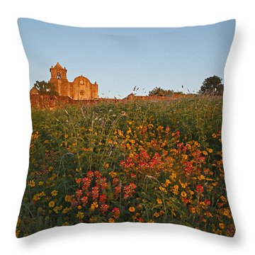 Presidio La Bahia 3 Throw Pillow