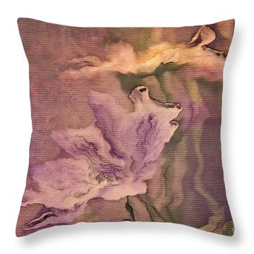 Pretty Bouquet - A04t4b Throw Pillow by Variance Collections