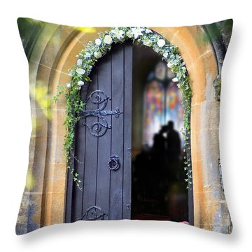 Pretty Portal  Throw Pillow