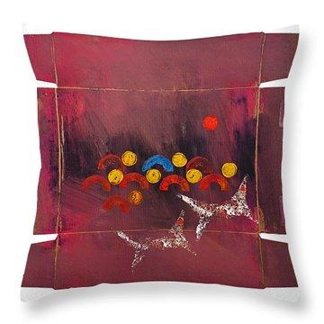 Prey Throw Pillow by Charles Stuart