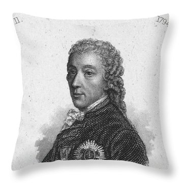 Prince Of Kaunitz-rietberg Throw Pillow by Granger