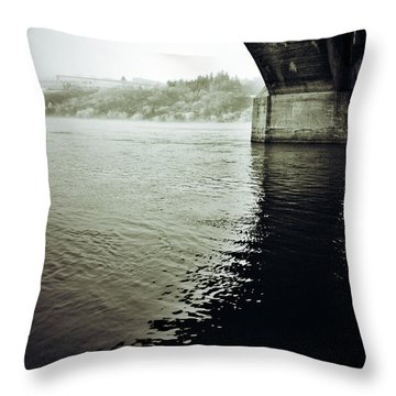 Prison Stream Throw Pillow by The Artist Project