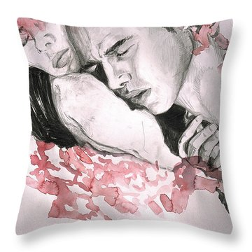 Prodigal Lover Throw Pillow by Rene Capone