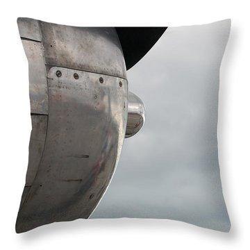 Prop In Sky Throw Pillow