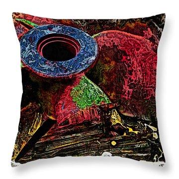 Propellor 2 Throw Pillow