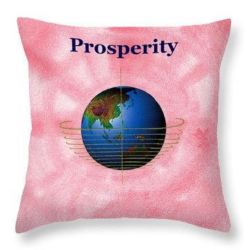 Prosperity Throw Pillow