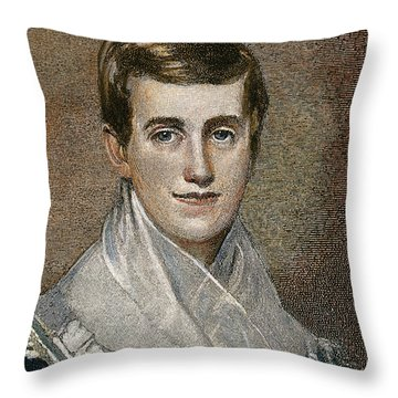 Prudence Crandall Throw Pillow by Granger