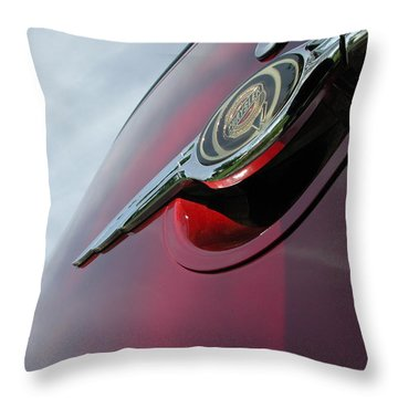 Pt Cruiser Emblem Throw Pillow by Thomas Woolworth