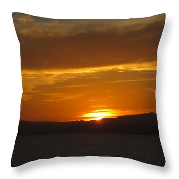 Throw Pillow featuring the photograph Puerto Vallarta Sunset by Marilyn Wilson
