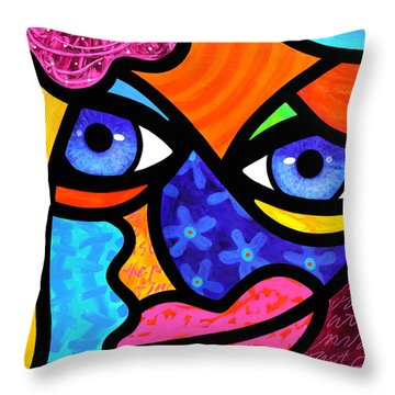 Pull Yourself Together Throw Pillow
