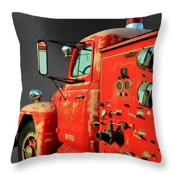 Pumper No. 2 - Retired Throw Pillow