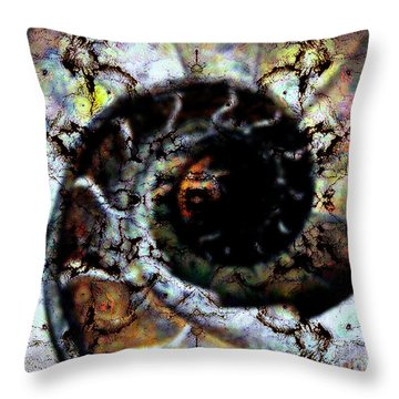 Pure Abstraction Throw Pillow by Thomas OGrady