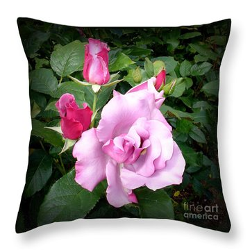 Throw Pillow featuring the photograph Purple Beauty  2 by Tanya  Searcy