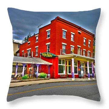 Purple Fiddle In Thomas Wv Throw Pillow