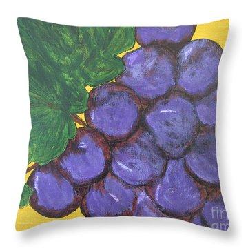 Purplest Purple Throw Pillow